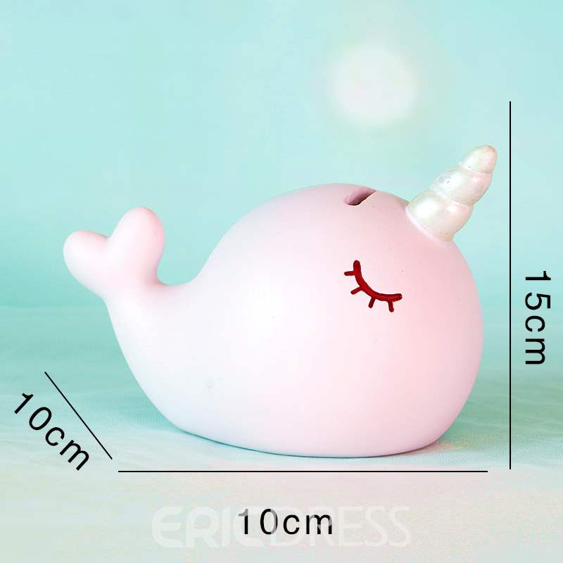 Ericdress Narwhal Creative Decoration Toys