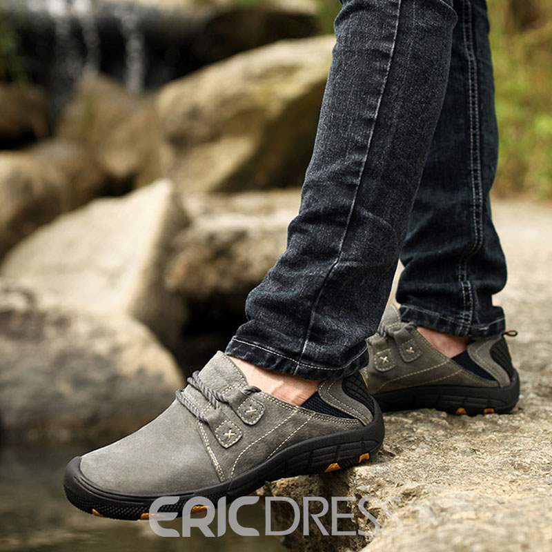 Ericdress Plain Lace-Up Men's Casual Shoes