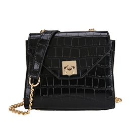Ericdress PU Thread Plain Square Crossbody Bags