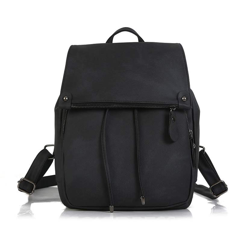 Ericdress PU Thread Plain Backpacks