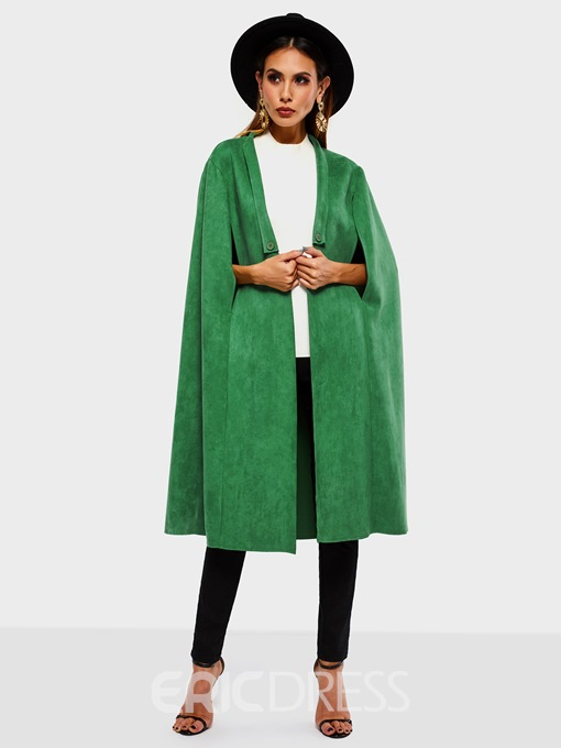Ericdress Suede Western Thick Spring Cape