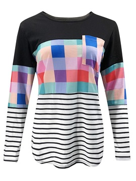 Ericdress Long Sleeve Standard Round Neck Spring Casual T-Shirt