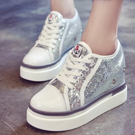 Ericdress Sequin Round Toe Women's Sneakers