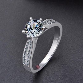 Ericdress Shining Diamante Rings