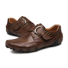 Ericdress Buckle Slip-On Low-Cut Upper Men's Loafers