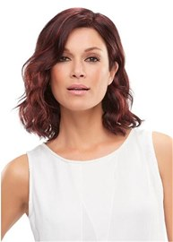 Eridress Shoulder Length Big Curly Side Swept Synthetic Hair Capless 12 Inches