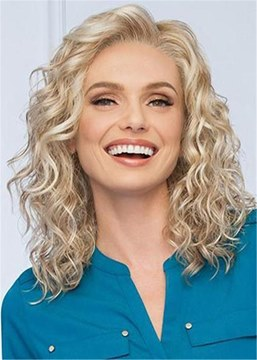 Ericdress Women Medium Wavy Synthetic Capless Wigs 14 Inches