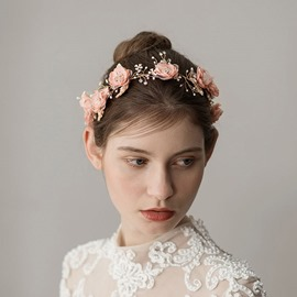 Ericdress Wedding Hairband Floral Hair Accessories
