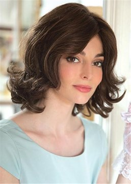 Ericdress Top Quality Medium Choppy Layered Big Curly Synthetic Hair Wigs 14 Inches