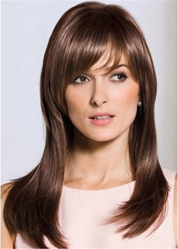 Ericdress Middle Length Straight Synthetic Hair Capless Wigs 20 Inches