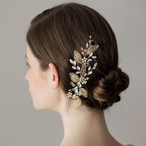 Ericdress Wedding Hair Comb Leaf Hair Accessories