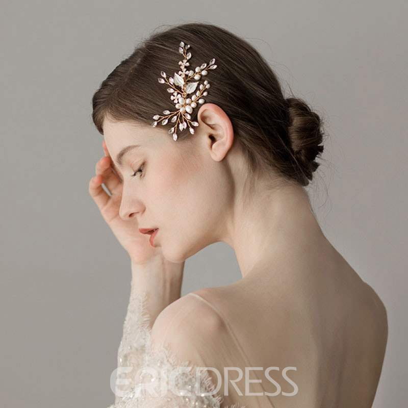 Ericdress Wedding Hair Comb Floral Hair Accessories