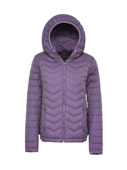Ericdress Straight Zipper Thick Standard Cotton Padded Jacket