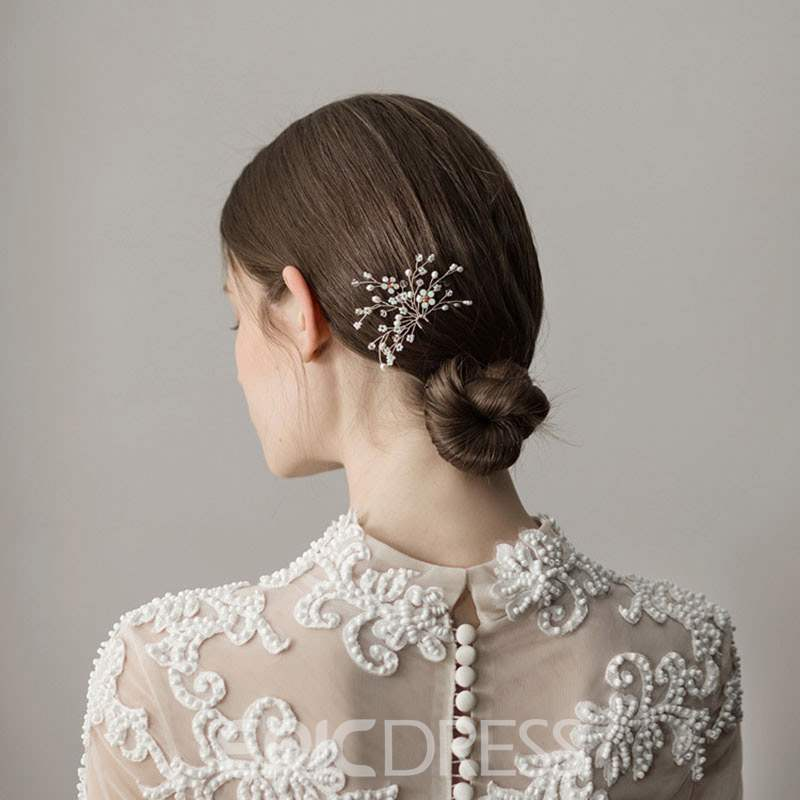 Ericdress Floral Pearl Wedding Hair Accessories