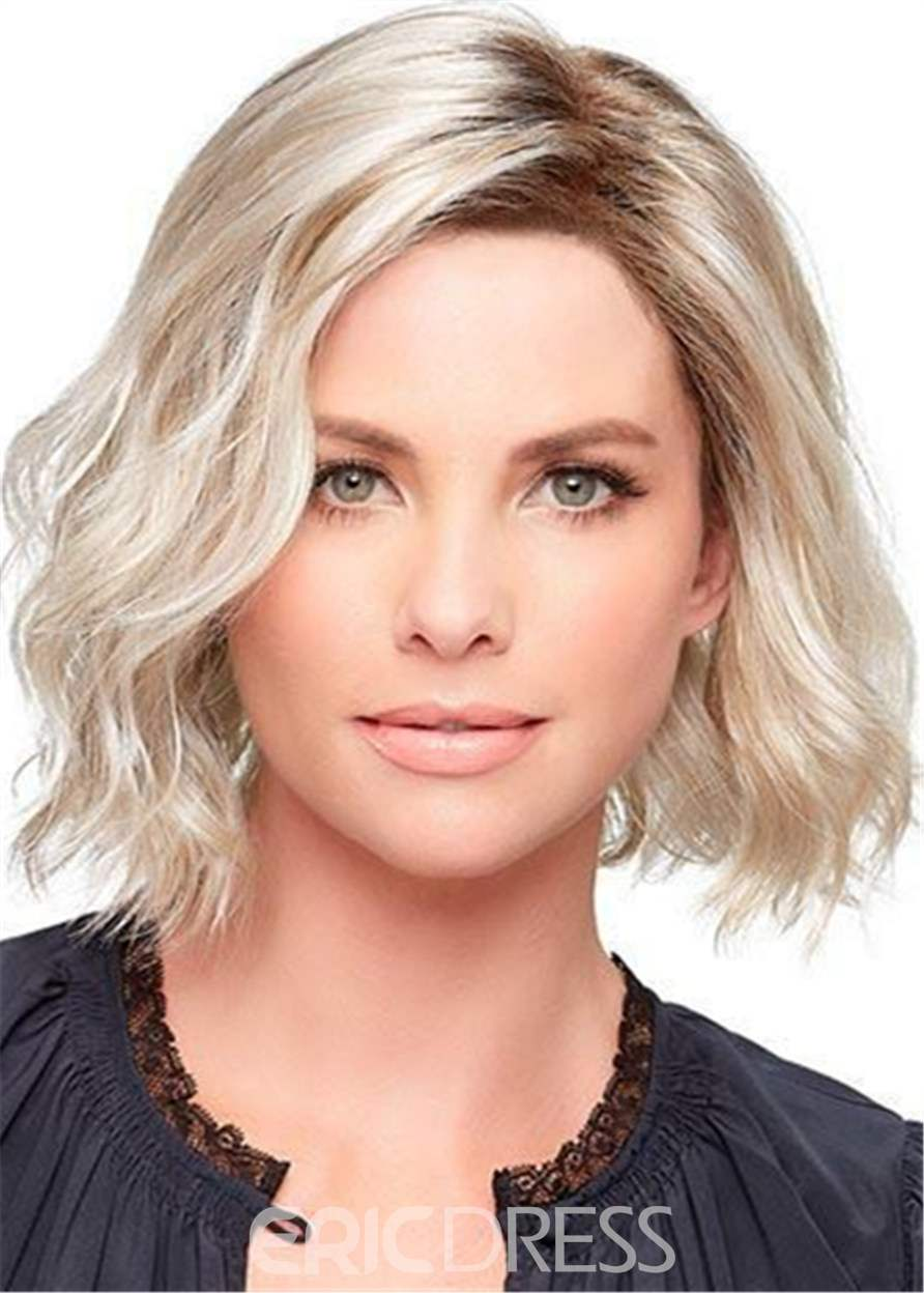 Ericdress Fashion Medium Loose Wave Layered Synthetic Hair Capless Wigs 12 Inches