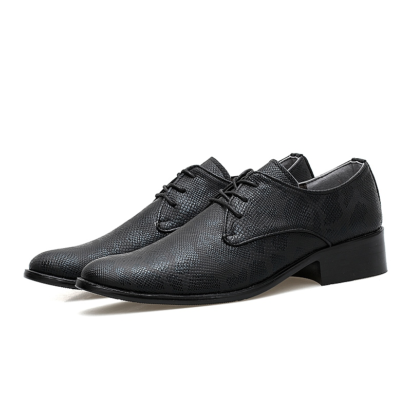 Ericdress Lace-Up Round Toe LMen's Dress Shoes