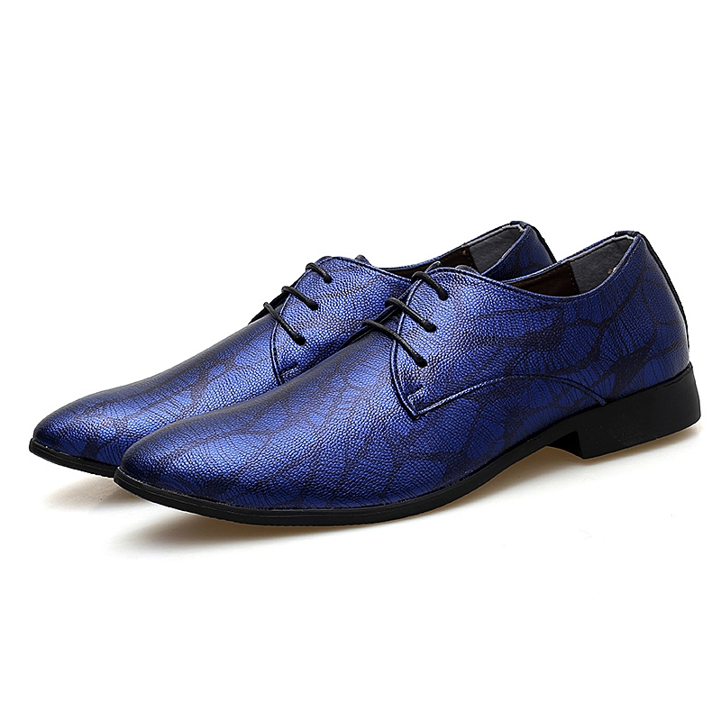 Ericdress Round Toe Lace-Up Men's Shoes