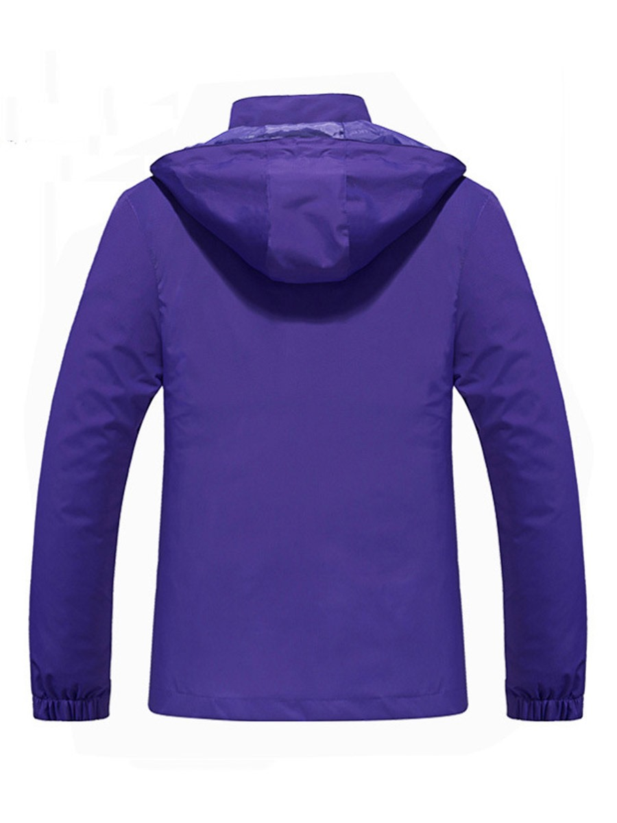Ericdress Breathable Pockets Hiking Polyester Single Solid Tops