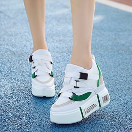 Ericdress Low-Cut Upper Buckle Platform Women's Sneakers