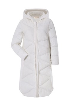 Ericdress Thick Zipper Loose Long Cotton Padded Jacket