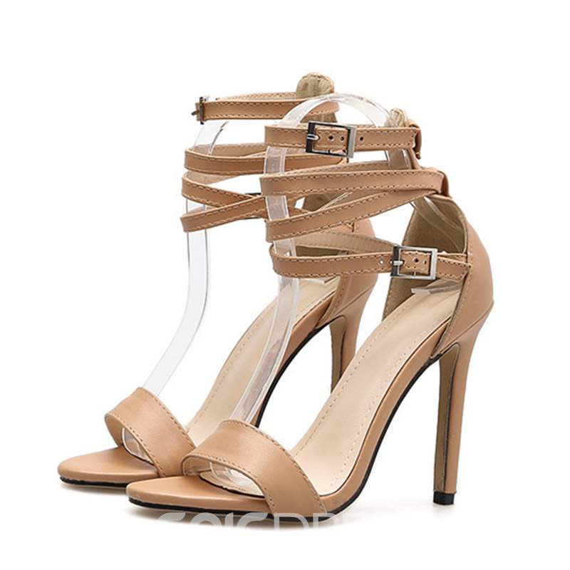 Ericdress Open Toe Stiletto Heel Women's Sandals