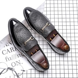Ericdress Plain Low-Cut Upper PU Leather Men's Shoes