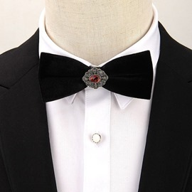 Ericdress Fashion Pleuche Bow Tie