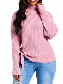 Ericdress Bowknot Loose Winter Sweater