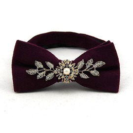 Ericdress Wool Bow Tie