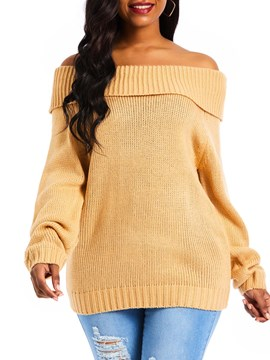 Ericdress Regular Loose Winter Sweater