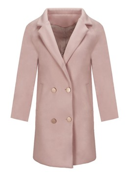 Ericdress Regular Pocket Straight Notched Lapel Winter Overcoat