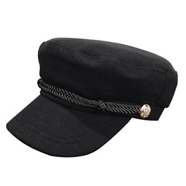 Ericdress Black Fashion Beret Hat