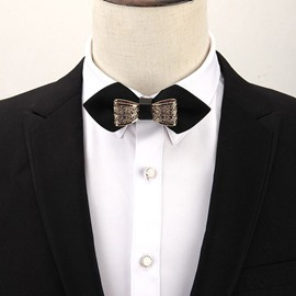 Ericdress Double Deck Bow Tie For Men