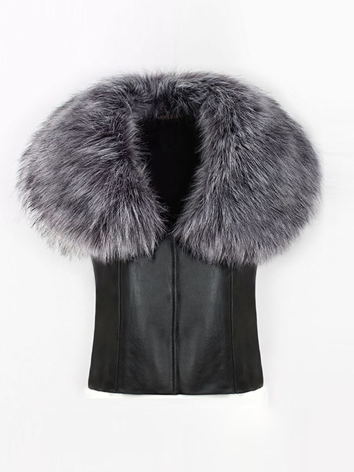Ericdress Flocking Winter Thick Vest