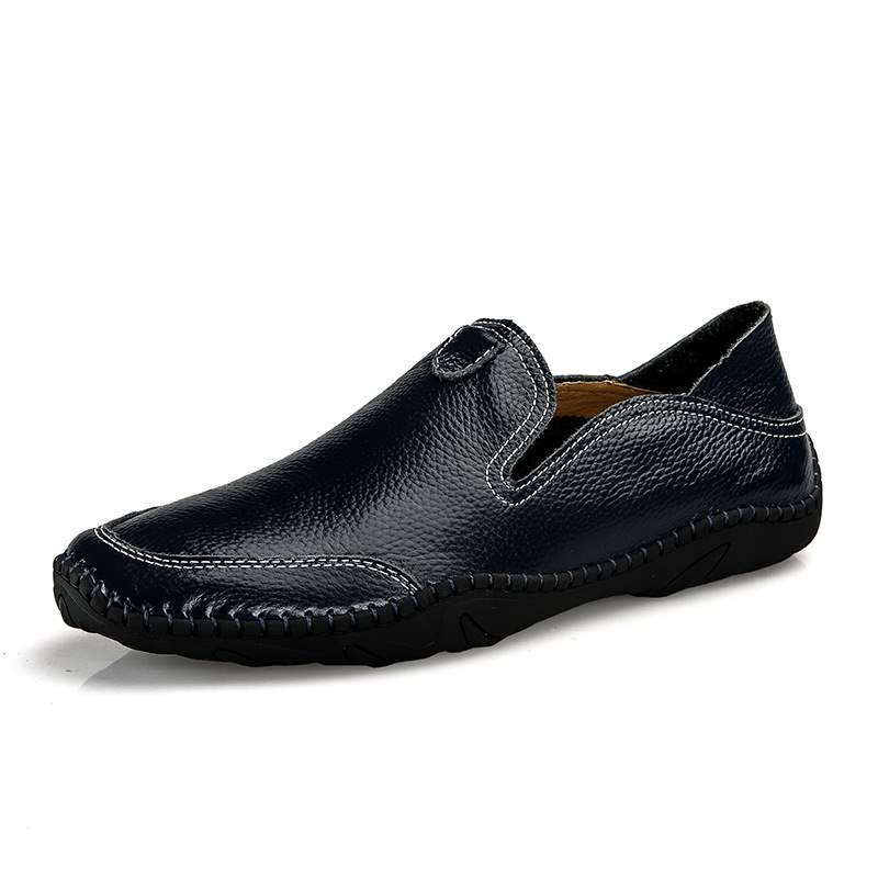 Ericdress PU Slip-On Round Toe Men's Comfortable Loafers