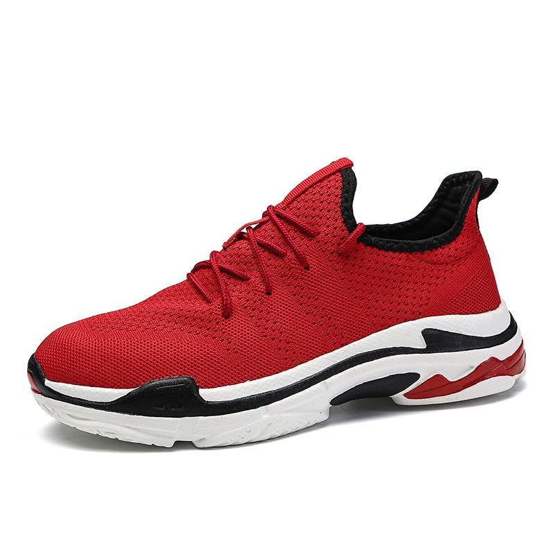 Ericdress Lace-Up Mesh Men's Comfortable Sneakers