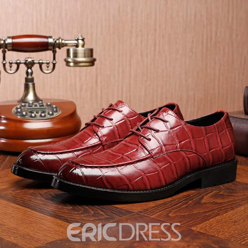 Ericdress Plain Low-Cut Upper Men's Dress Shoes