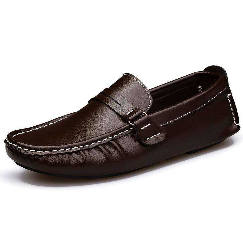 Ericdress PU Round Toe Slip-On Men's Loafers
