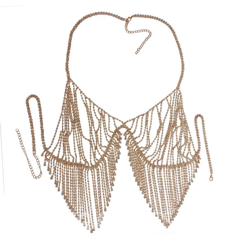 Ericdress Body Chain Shining Necklace