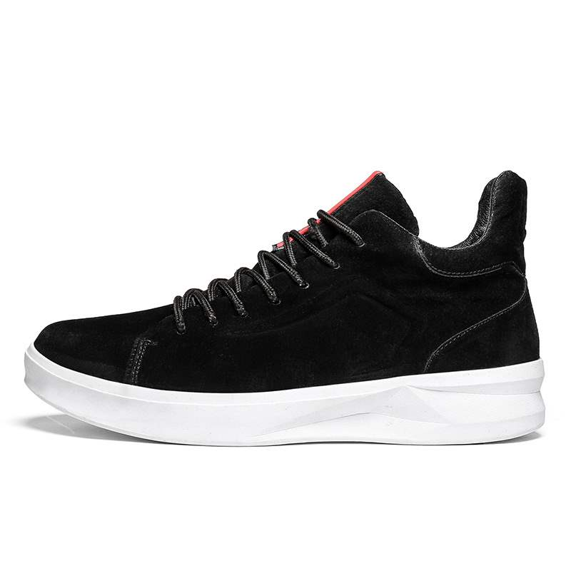 Ericdress PU Mid-Cut Upper Lace-Up Men's Casual Shoes