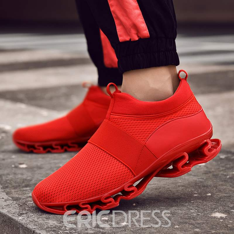 Ericdress Patchwork Elastic Band Mesh Men's Sneakers
