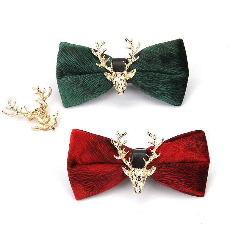 Ericdress Elk Bow Tie For Men
