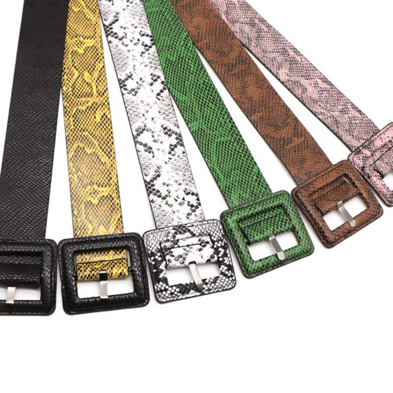 Ericdress Fashion Pin Buckle Sexy PU Belts