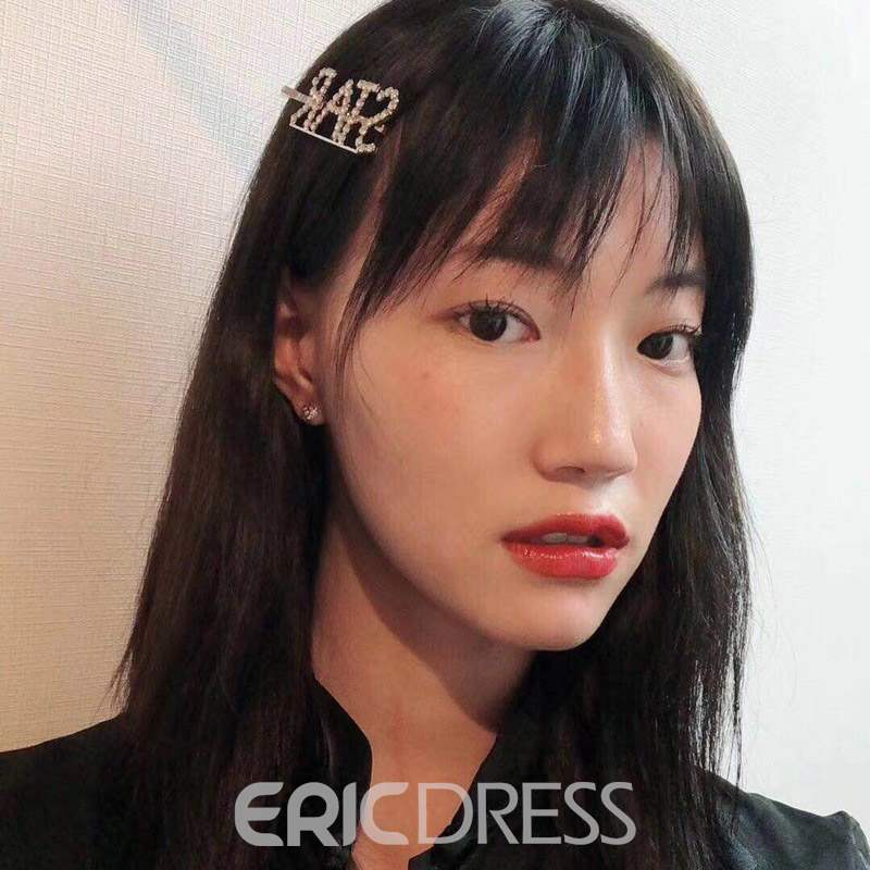 Ericdress Letter Diamante Hair Accessories