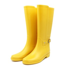 Ericdress Block Heel Round Toe Women's Hunter Boots