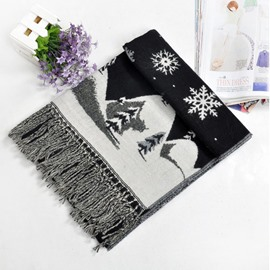 Ericdress Snow Imitation Cashmere Scarf