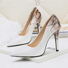 Ericdress Serpentine Stiletto Heel Pointed Toe Pumps