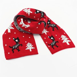 Ericdress Christmas Imitation Cashmere Scarf