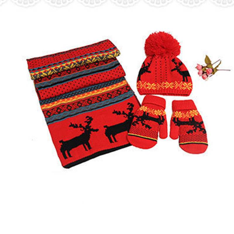 Ericdress Elk Christmas Imitation Cashmere Scarf