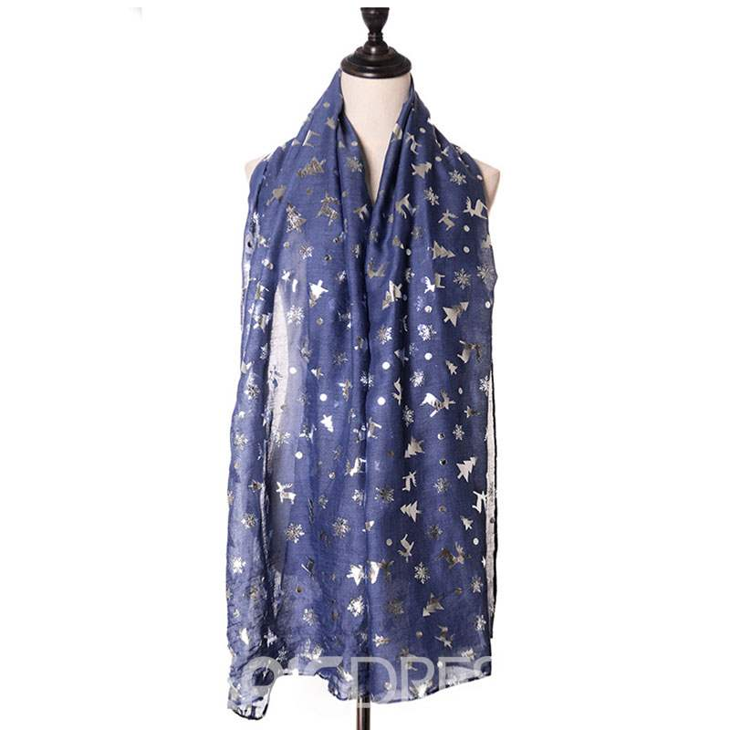 Ericdress Christmas Star Scarf